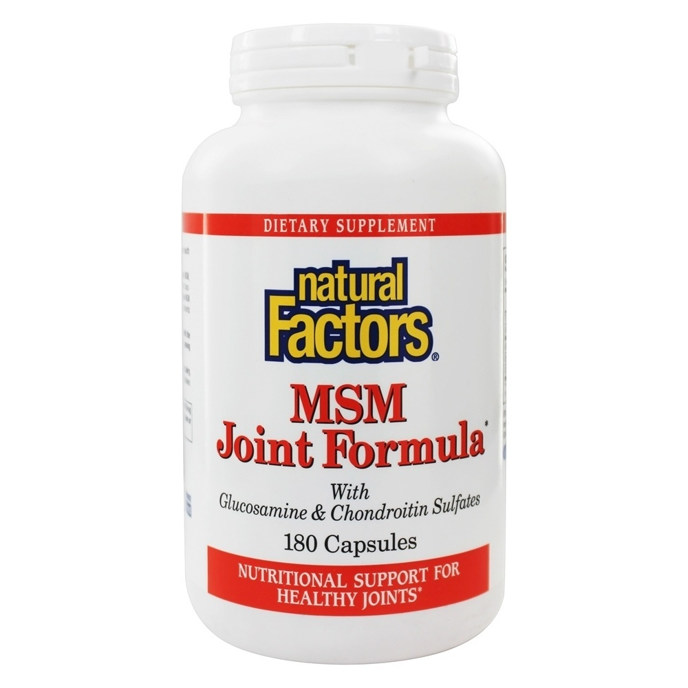 Msm cargo tracking - Natural Factors Msm Joint Formula With Glucosamine Chondroitin Sul