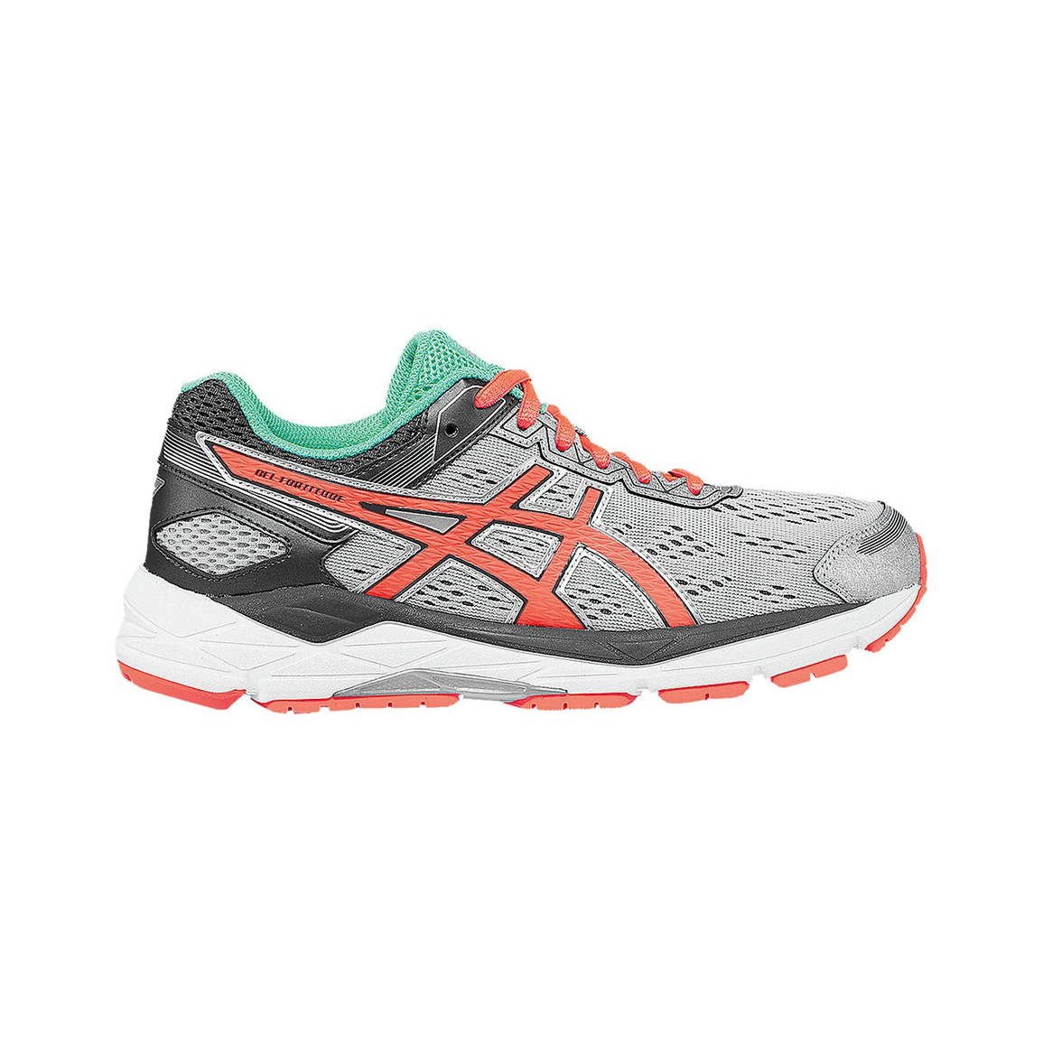 Asics Women's ASICS GEL-Fortitude 7 Running Shoes - Color: Silver/Fier.