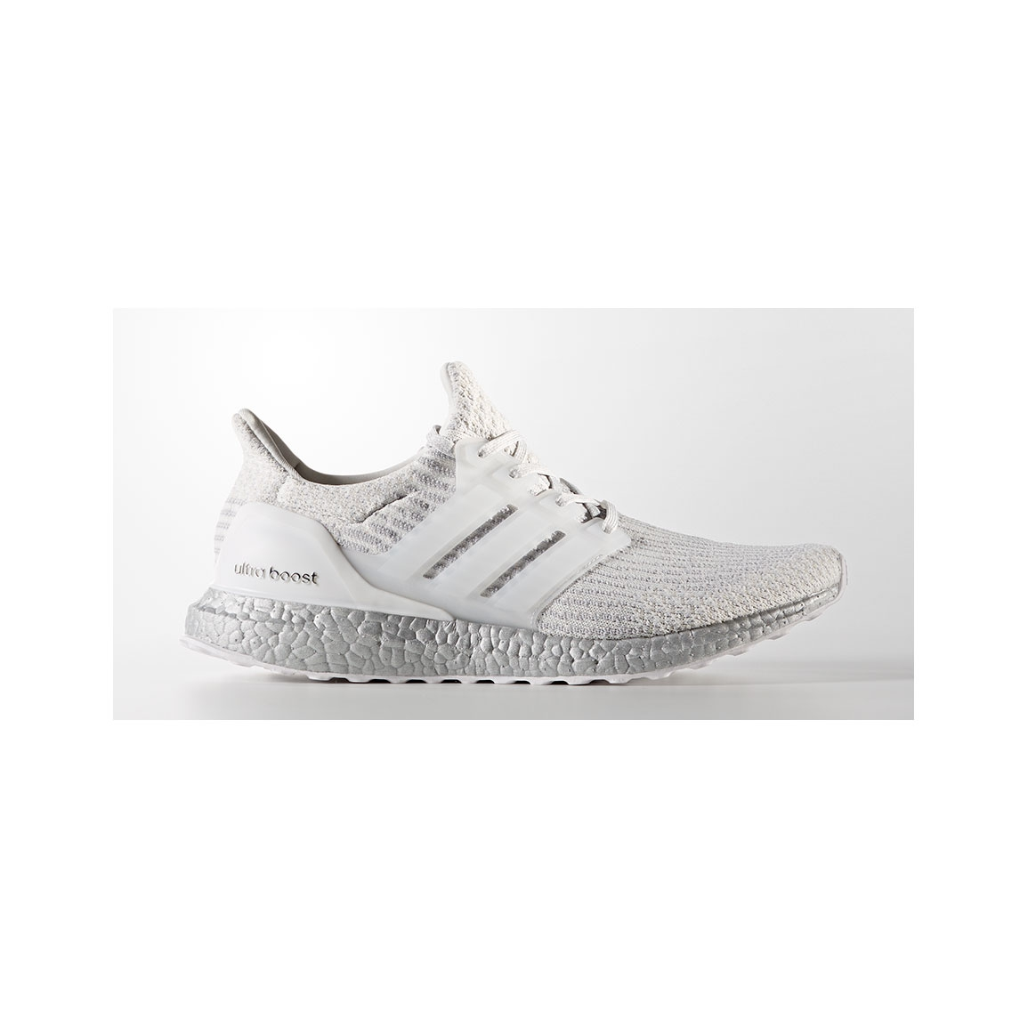 Men's Adidas UltraBOOST 3.0 LTD - Color: Crystal White/Crystal White/S..