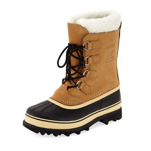 55bb245d9687 Sorel Caribou Shearling-Lined All Weather Duck Boot