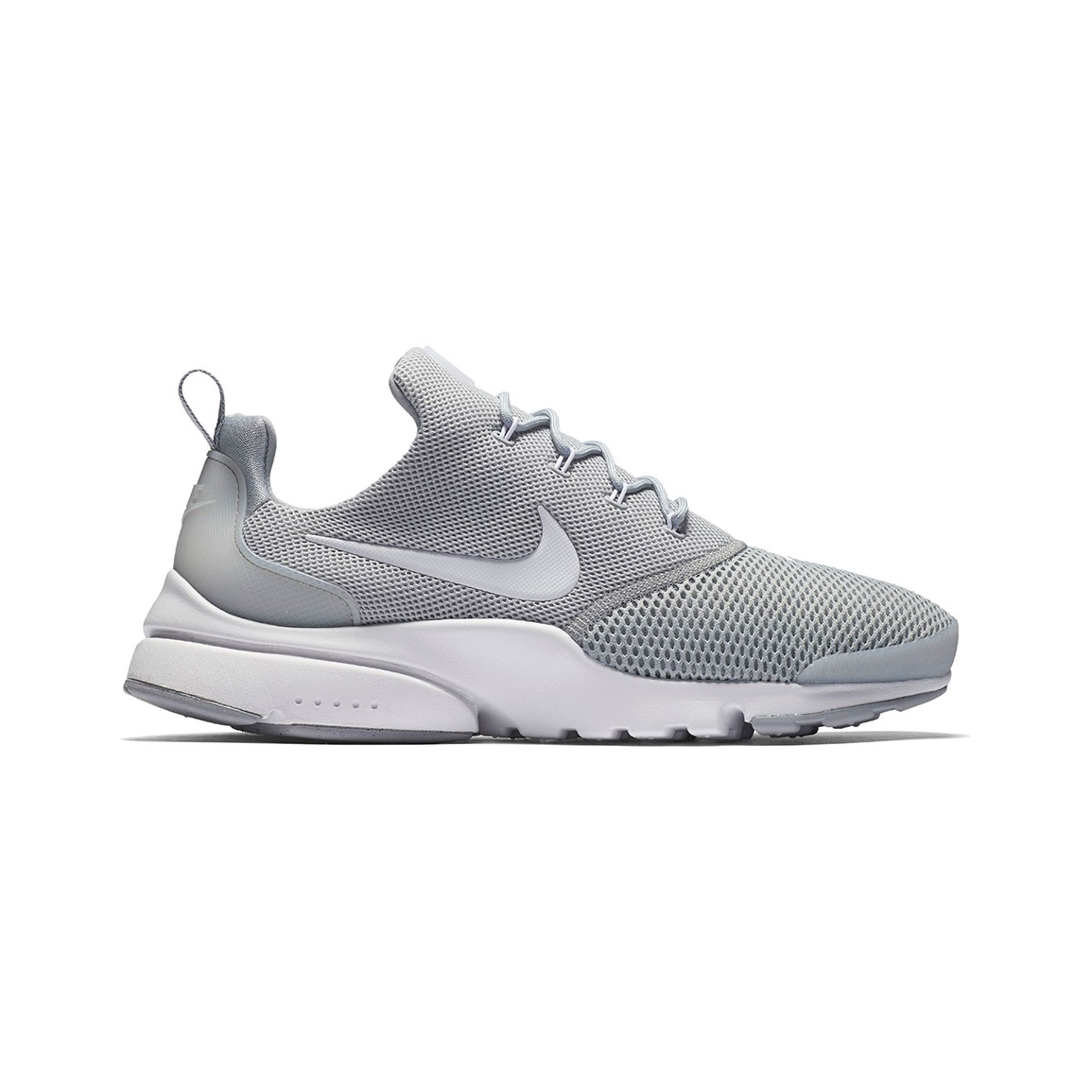 Men's Nike Presto Fly Lifestyle Shoe - Color: Wolf Grey/White/Wolf Gre.